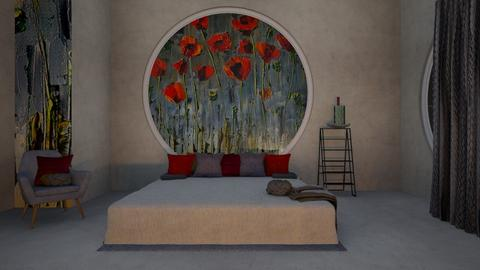 Poppy Bedroom - Modern - Bedroom  - by ilikalle