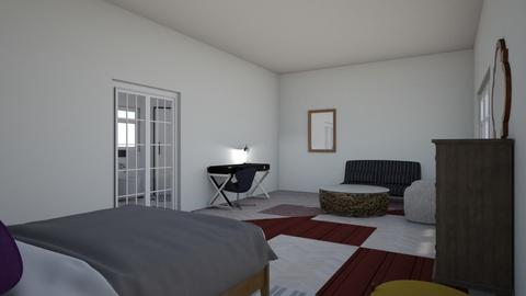 habitacion - Bedroom  - by clara salome