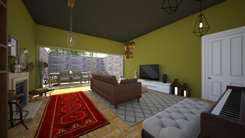 green view in the morning - Living room - by ghxzaleh