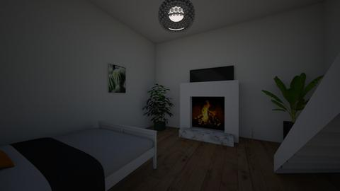 basement bedroom - by EJdesigns