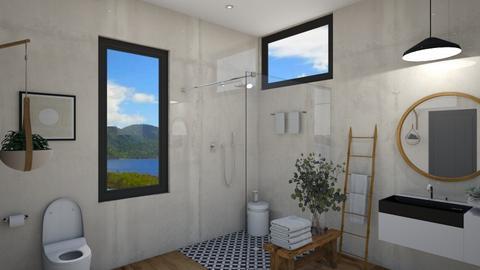 small bathroom - Modern - Bathroom  - by moomusr
