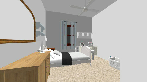 My Room - Classic - Bedroom  - by Albany May Wake