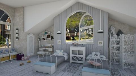 Sally y Gillian Owens - Rustic - Bedroom  - by deleted_1524667005_Elena68