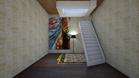 shabby shack hallway - by westernwind