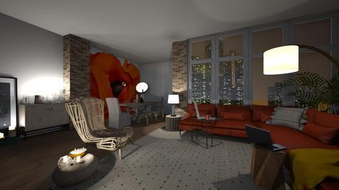 stop ceiling lighting - Living room  - by cuneyt oznur