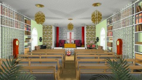 CHURCH OF YAHSHAU - Classic - Office  - by JEN GRANT FRISKIELISKIE
