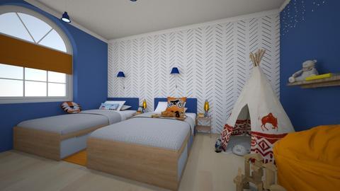 qqq 2 - Bedroom  - by AleksandraZaworska98