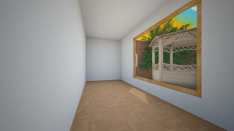 school hallway - by ngungu