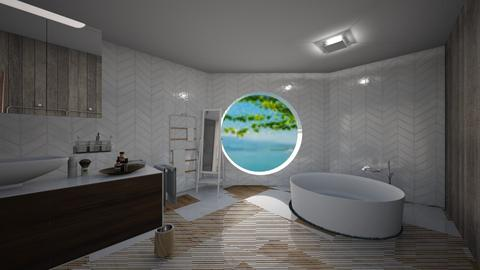 Master Bathroom - Minimal - Bathroom  - by deleted_1543819318_justanerdwithadr