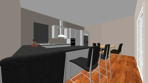 home sweet home - Modern - Kitchen - by natedawg556