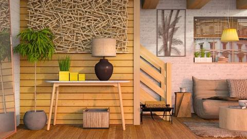 Wooden Wall Revival - Eclectic - Living room  - by Sally Simpson
