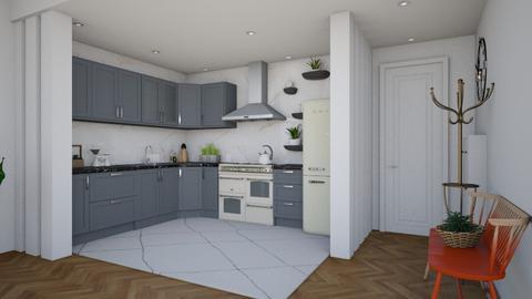 BP kitchen - Kitchen - by Laurika