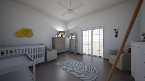 Kristina and Joes Nursery - Kids room  - by hemily0414