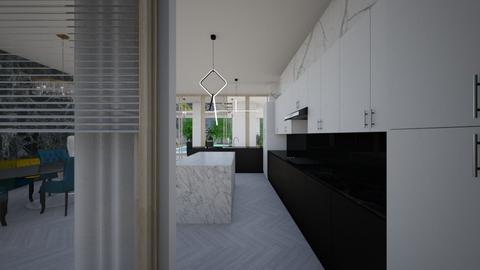 Glamour_kitchen - Kitchen  - by lovasemoke