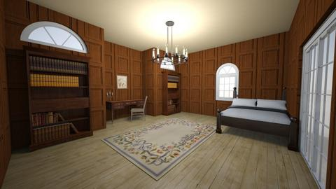 Fictional Character Room  - Vintage - Bedroom  - by jia_clair