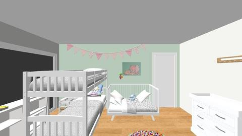kinderkamer definitief - Minimal - Kids room - by tinegregoor