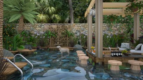 Design 285 Backyard Parad - Garden  - by Malithu Damasth