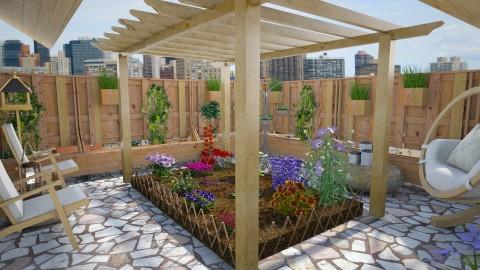 Patio - Modern - Garden  - by hollyhough549