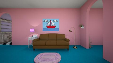 Simpsons living room - Living room  - by Feeny