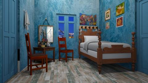 Van Gogh Bedroom - Bedroom  - by matina1976