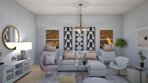 P I N K - Living room  - by H A L O