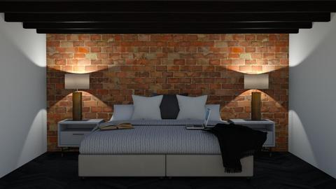 industrial bedroom 2 - Bedroom  - by AGB08