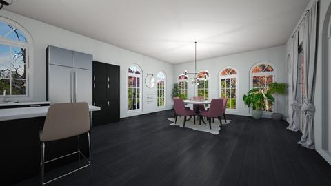 Minimalist Home - Minimal - Dining room  - by Mari_Torrez01