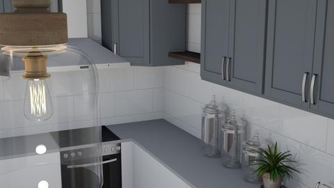 my kitchen  - Kitchen - by heynowgregory