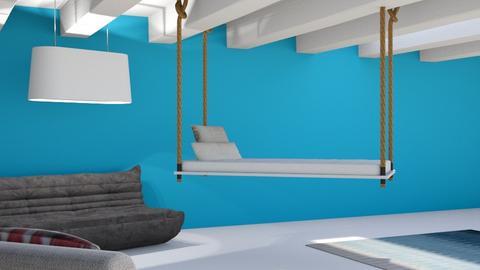 ROOM1 - Living room  - by SunshineAllie