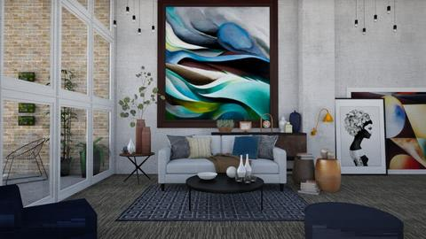 OKeeffe Living - Modern - Living room - by Nina Colin