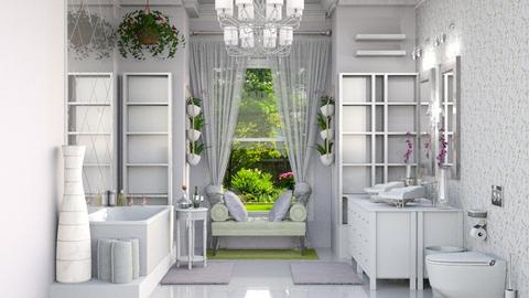 lavender bathroom - Classic - Bathroom  - by abby_o