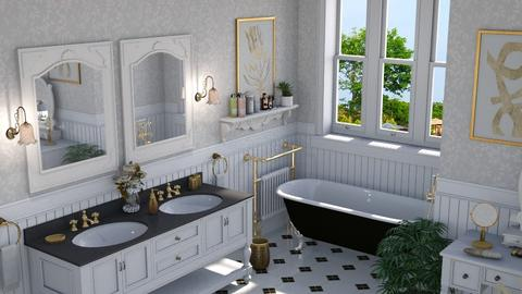Golden Age - Bathroom  - by Claudia Correia