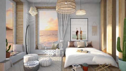 surf - Bedroom  - by siljaj