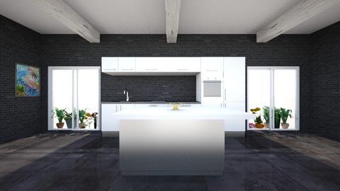 the dark kitchen - Kitchen - by lynsjk