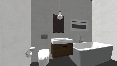 Bathroom_Gabor - Bathroom  - by hrnora