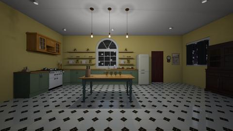 The Cook - Kitchen  - by maddy100