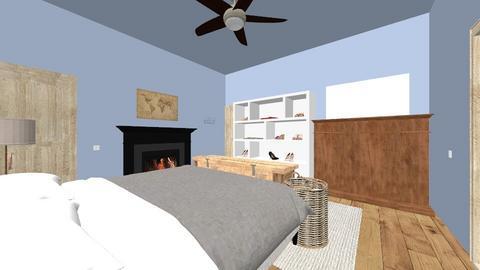 Clara_room - Modern - Bedroom  - by bowcla5493