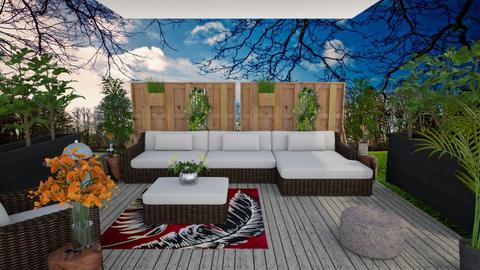 Small Living Patio - Garden  - by LSDESIGNS