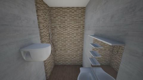 bath 01 - Minimal - Bathroom  - by quasarpk