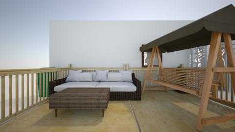 Outdoor seating area - Garden  - by BelleOwen