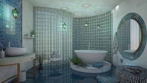 M_ Exotic bathroom - Eclectic - Bathroom  - by milyca8