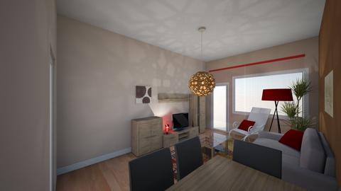 Salon - Living room - by redi87