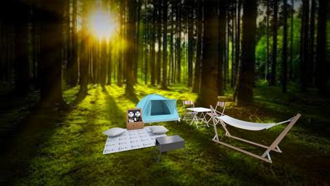 camp - Garden - by rukayye