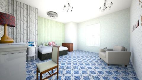 habitacion paula pacheco - Minimal - Bedroom  - by paulitadiazpacheco