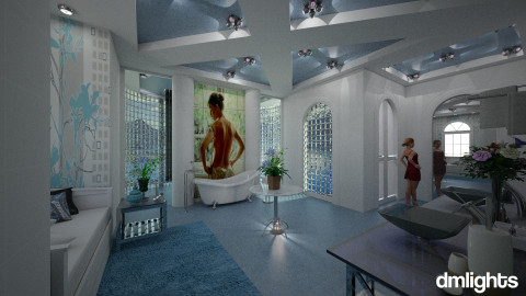 Musa - Modern - Bathroom  - by DMLights-user-994540