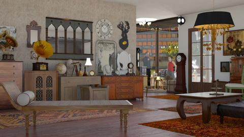 antique shop - by nat mi