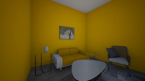 Yellow Gray - Living room - by Seco0625