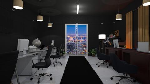 Night Office - Modern - Office  - by wijesinghe