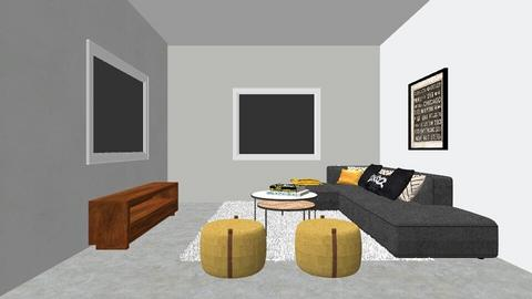 סלון - Living room  - by adelis