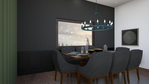 modern dinning room - Modern - Dining room  - by chocolatelover08